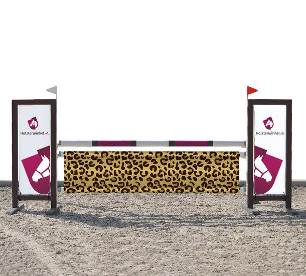 Hindernisdoek luipaard 285 x 70 cm