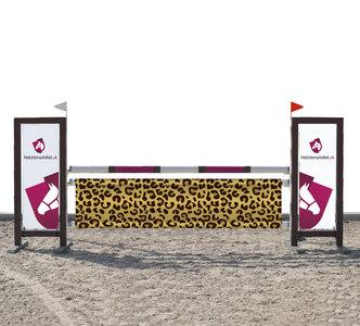 Hindernisdoek luipaard