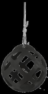 Hay Slowfeeder Grijs Kunststof - 40 cm Diameter