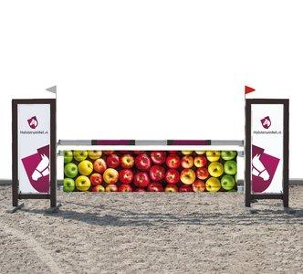 Hindernisdoek Appels