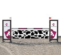 Hindernisdoek koe