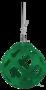 Hay Slowfeeder Groen Kunststof - 40 cm Diameter