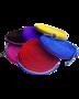Partij longeerlijnen zacht kleurenmix - 3 stuks